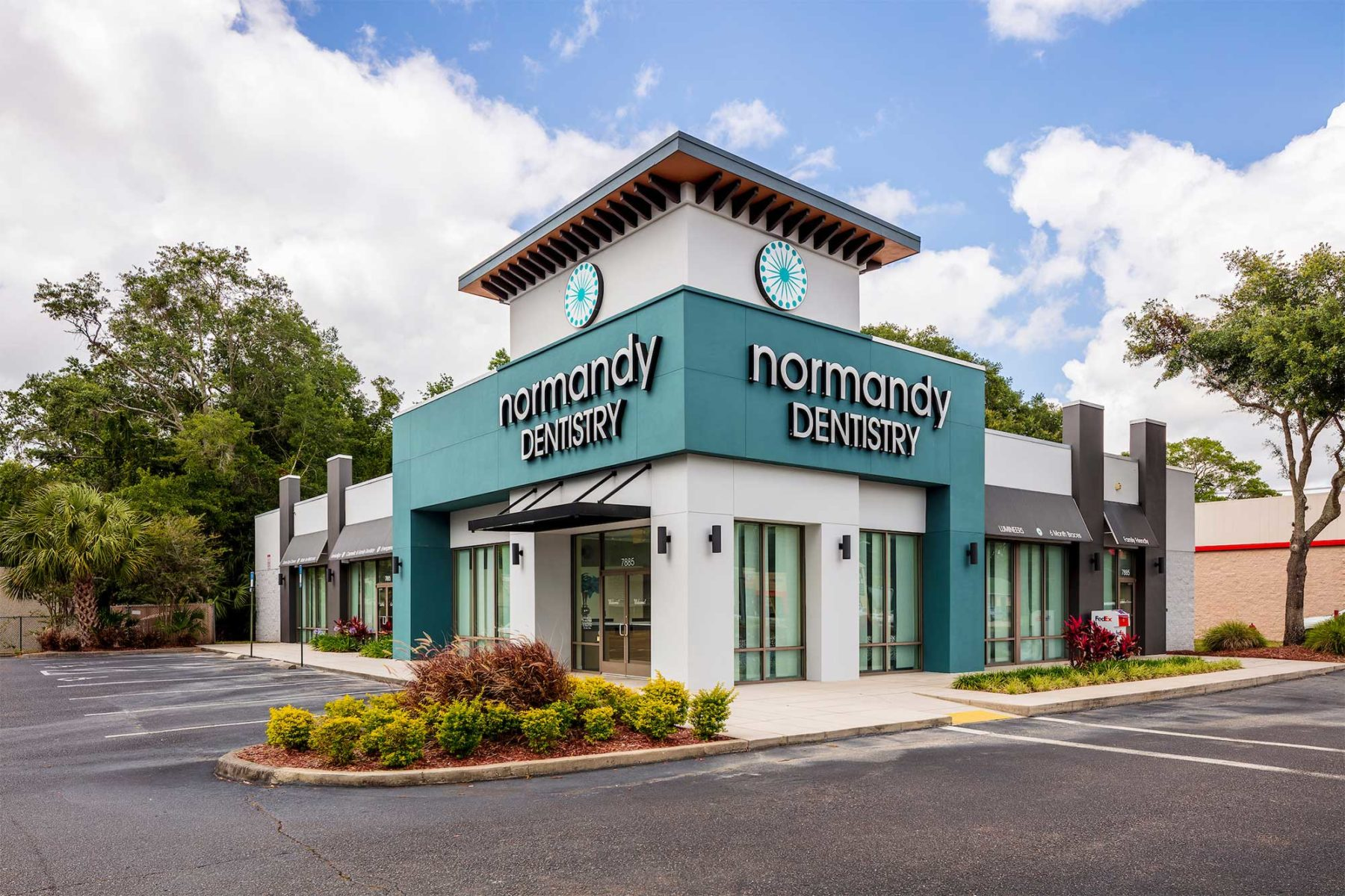 The Normandy Dentistry building in Jacksonville, Florida